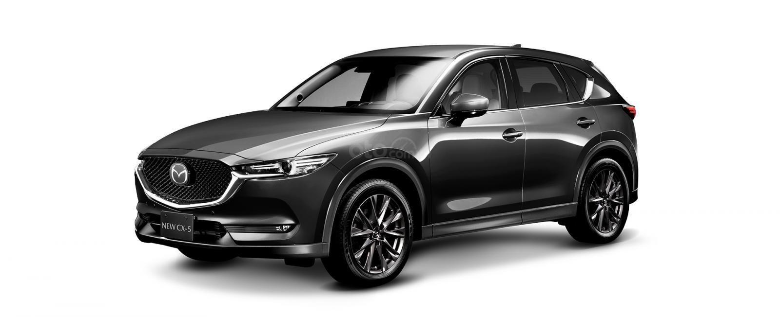 Đánh giá xe Mazda CX-5 2019: Màu Xám.