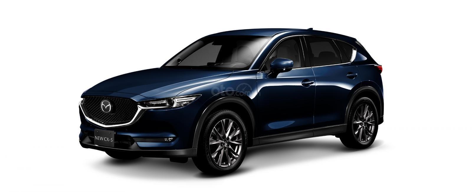 Đánh giá xe Mazda CX-5 2019: Màu Xanh.