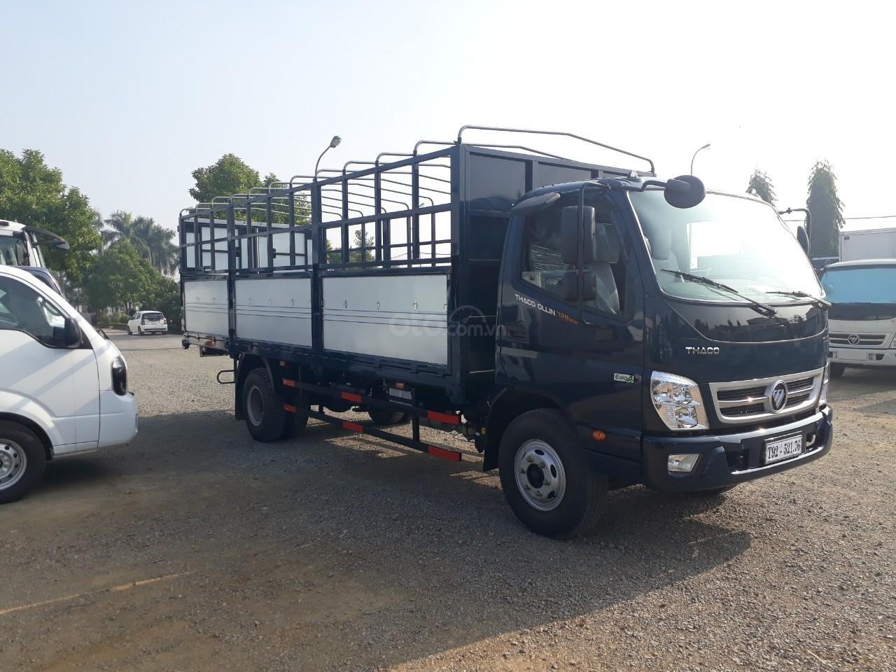 Giá xe tải Thaco Ollin 350. E4 tải trọng 2.15/3,49 tấn, LH: 098.253.6148-0