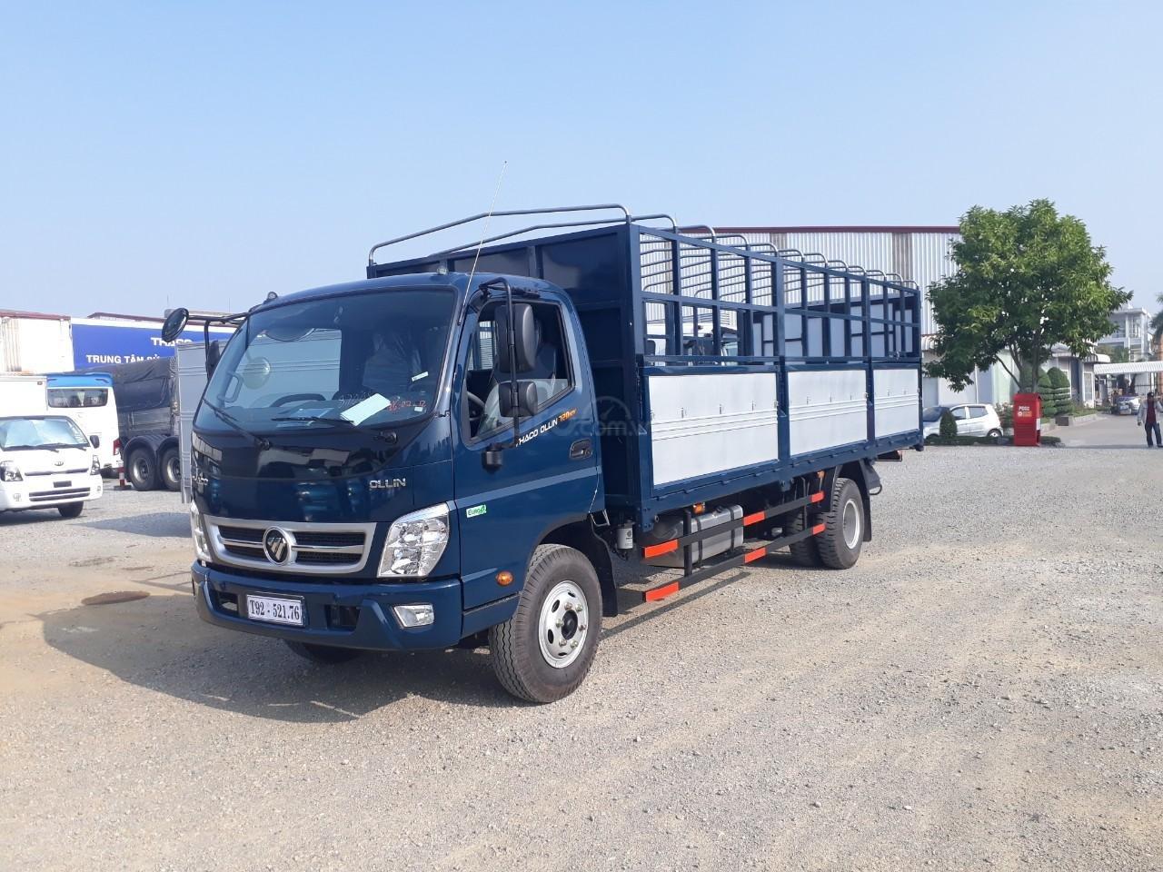 Giá xe tải Thaco Ollin 350. E4 tải trọng 2.15/3,49 tấn, LH: 098.253.6148-5