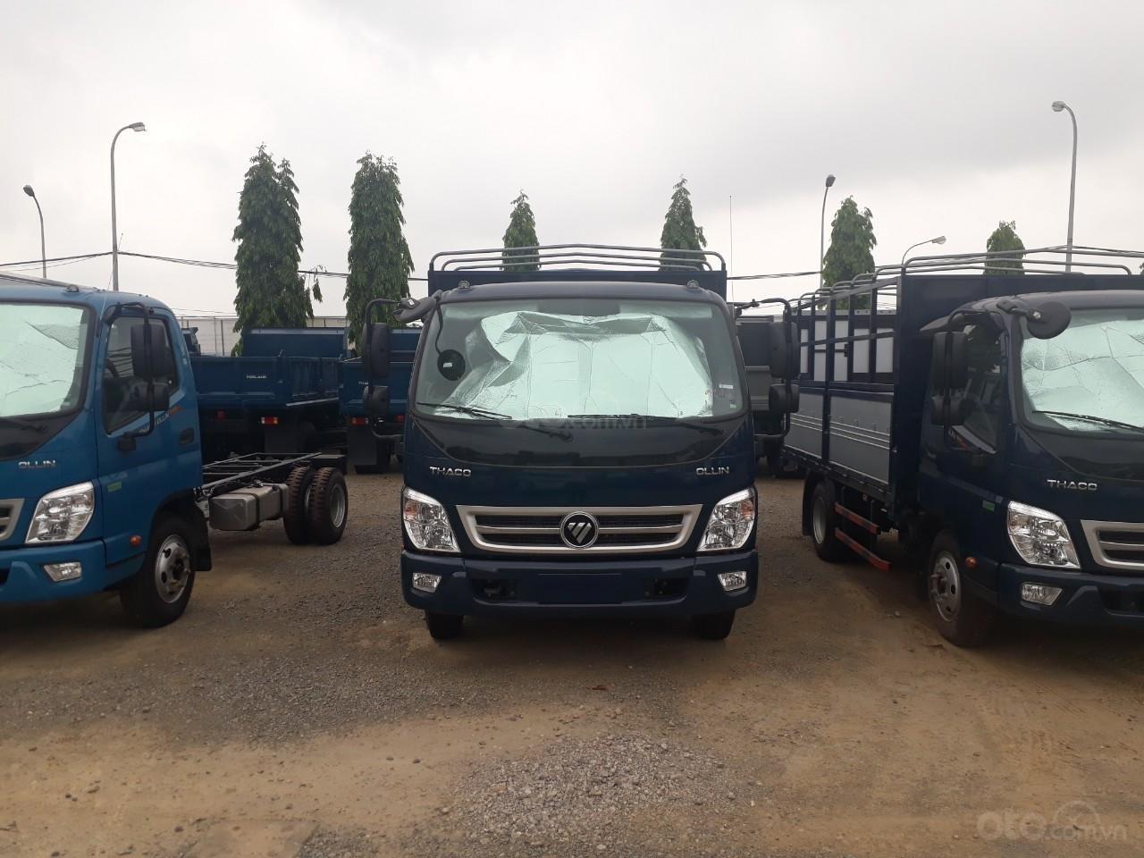 Giá xe tải Thaco Ollin 350. E4 tải trọng 2.15/3,49 tấn, LH: 098.253.6148-4