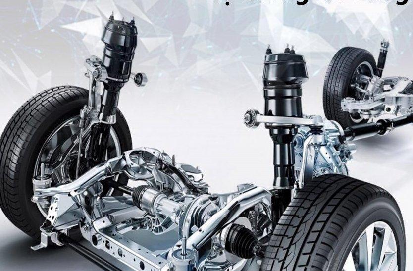 Hệ thống treo có vai trò giúp xe ô tô di chuyển êm ái, ổn định.