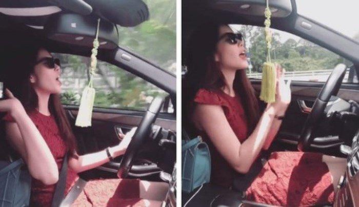 Buông hai tay khi lái xe ô tô có bị phạt? 1a