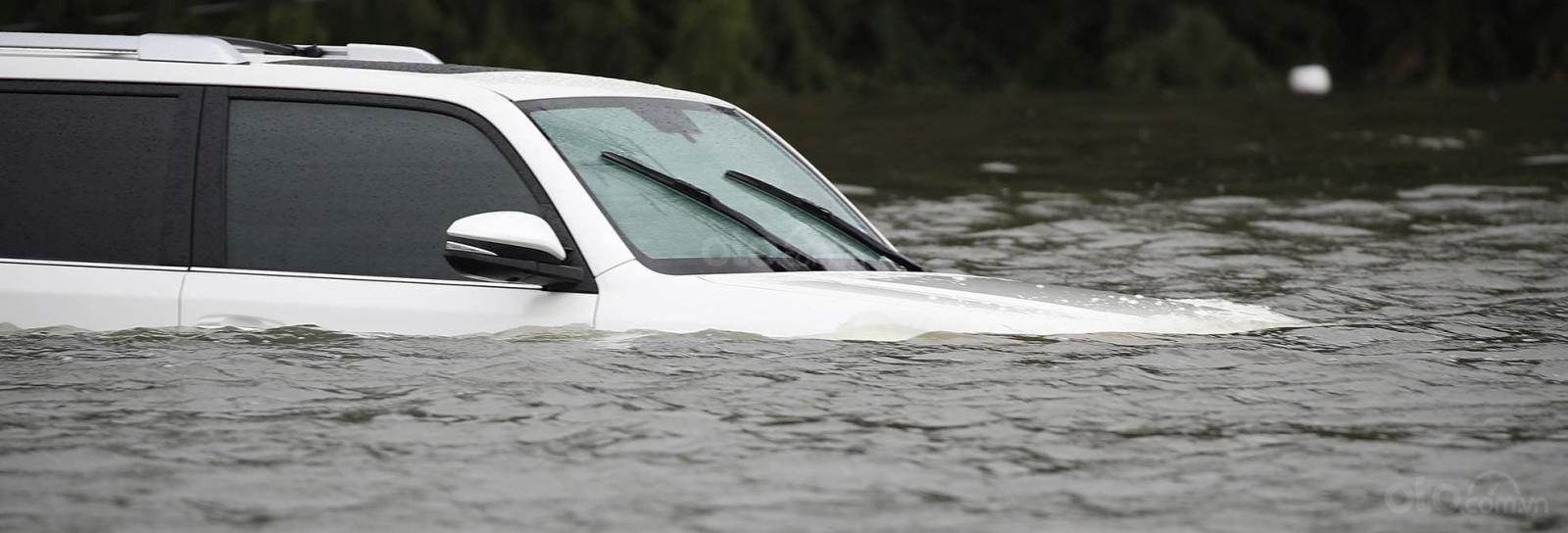 10 điều nên tuân thủ khi ô tô bị ngập nước - Đánh giá độ ngập