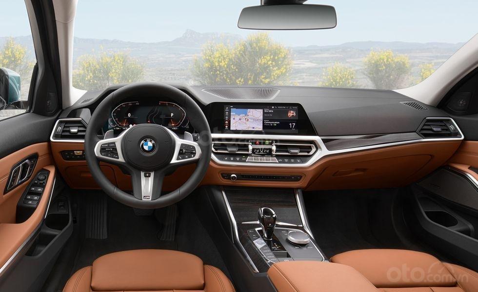 BMW 3-Series Touring 2020 có nội thất tạo khắc