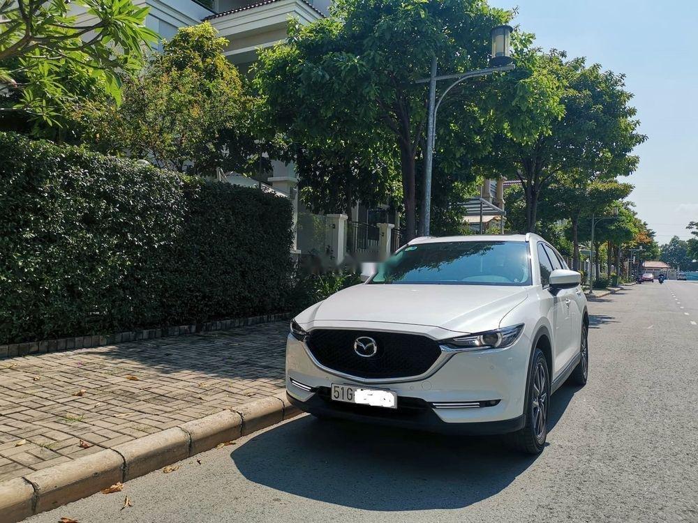 Bán Mazda CX 5 đời 2018, màu trắng, 870 triệu-0