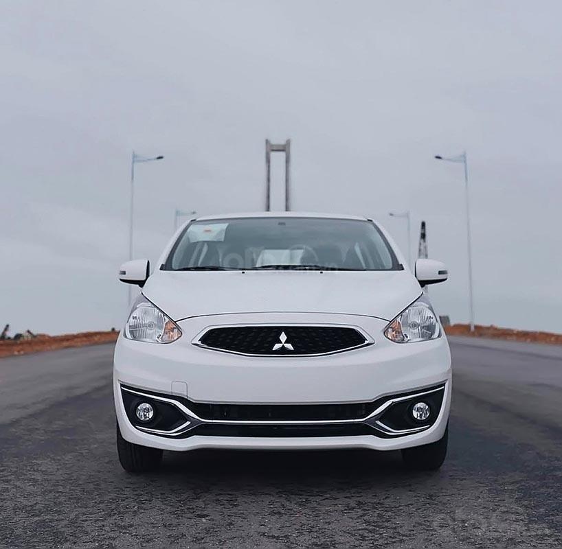 Bán ô tô Mitsubishi Mirage 1.2 MT năm sản xuất 2019, màu trắng, nhập khẩu giá cạnh tranh (1)