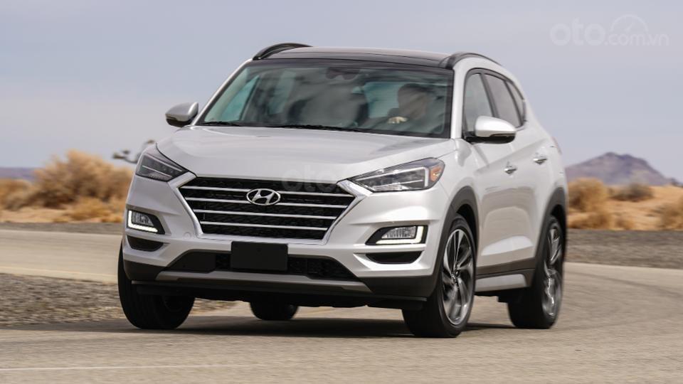 Những mẫu xe an toàn giá rẻ nhất tại Mỹ - Hyundai Tucson