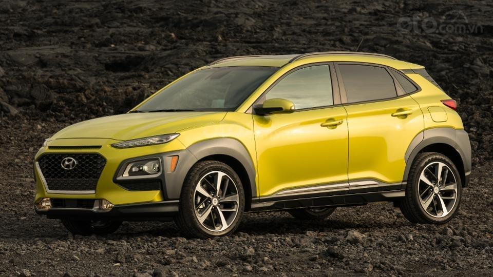 Những mẫu xe an toàn giá rẻ nhất tại Mỹ - Hyundai Kona