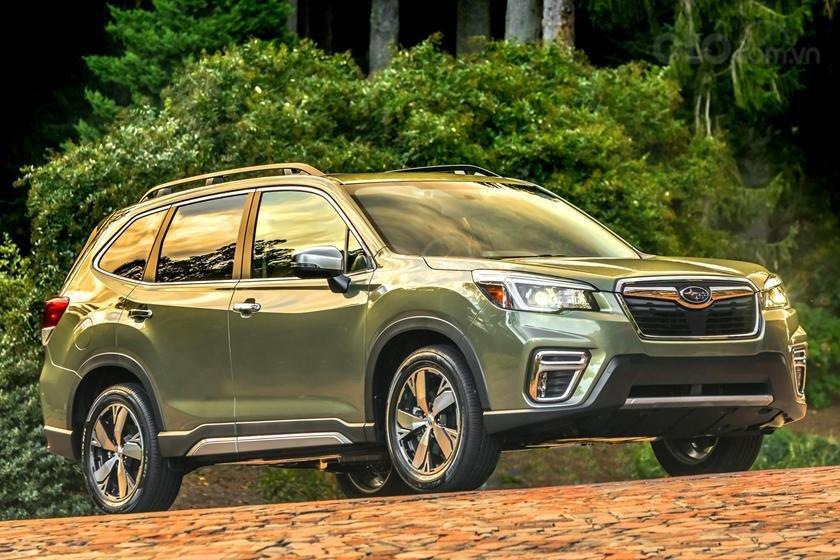 Subaru Forester tiếp tục phấn đấu giữ vững lòng tin người dùng