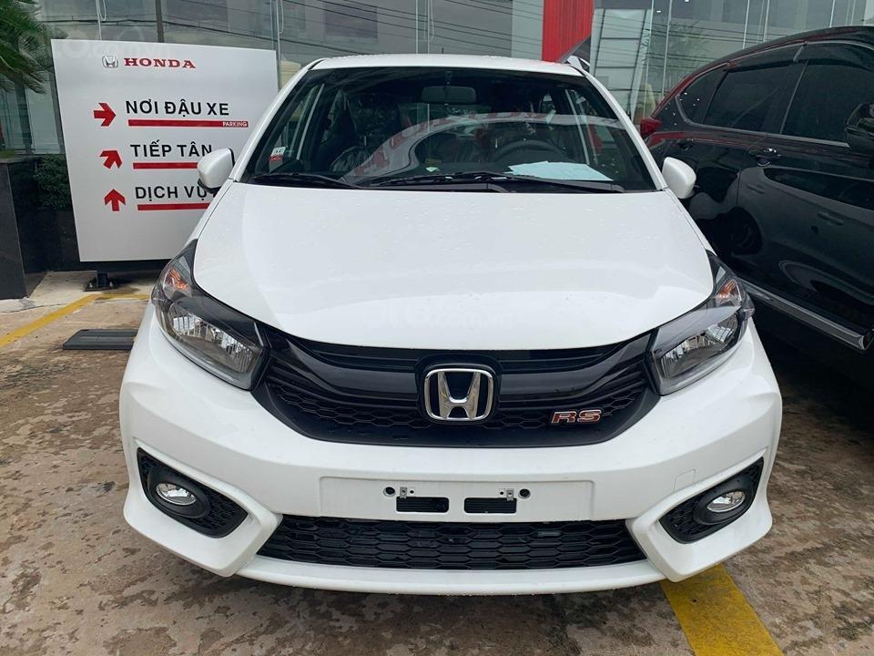 Honda Brio RS 2021 Đồng Nai khuyến mãi khủng, giá 448tr, nhận xe từ 140tr góp 5,5tr (1)