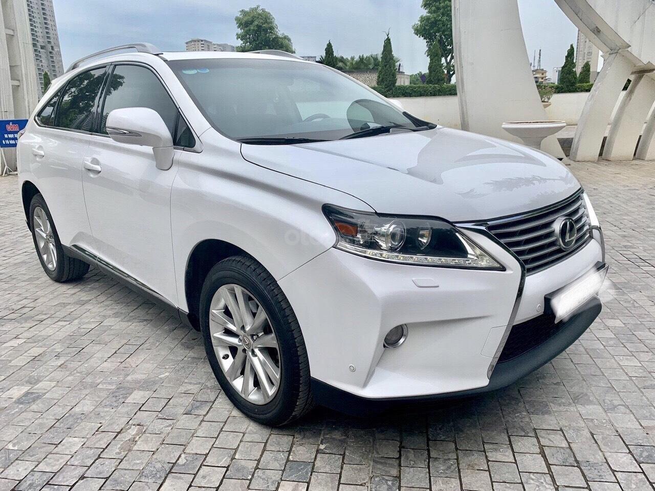 Cần bán xe Lexus RX 350 năm sản xuất 2014, màu trắng, nhập khẩu nguyên chiếc (1)