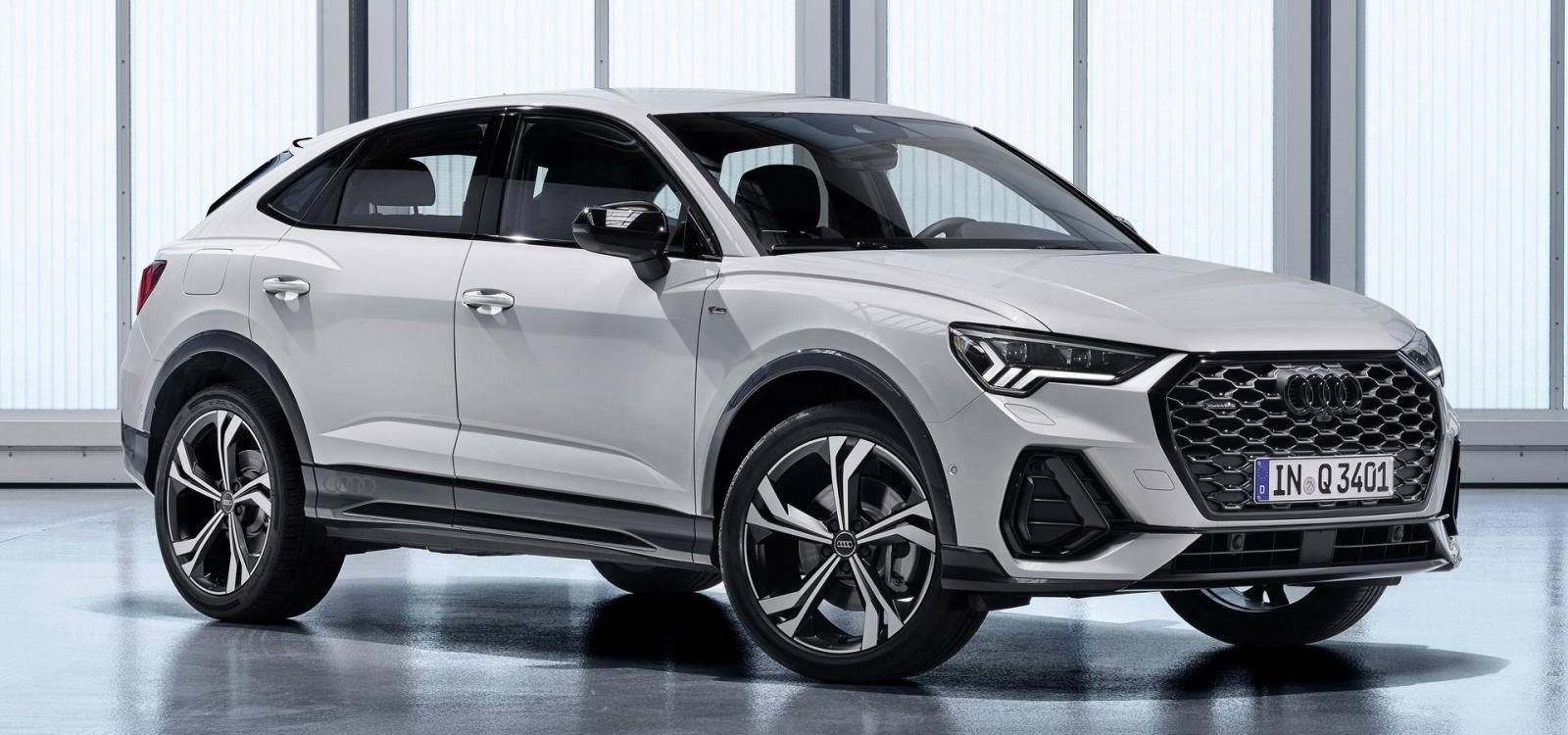 So sánh Audi Q3 Sportback và BMW X2 2019.