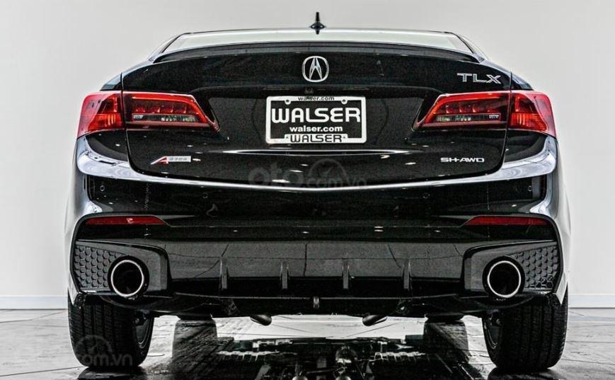 Đánh giá xe Acura TLX 2020 về đuôi xe