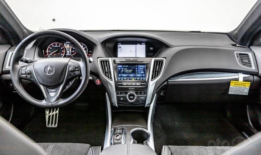 Đánh giá xe Acura TLX 2020 về bảng táp lô - Trang trí cao cấp, bố trí tiện dụng