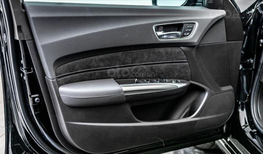 Đánh giá xe Acura TLX 2020 về bảng táp lô - Hòa hợp, ấm áp