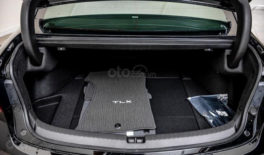 Đánh giá xe Acura TLX 2020 về khoang hành lý - Không có gì ấn tượng