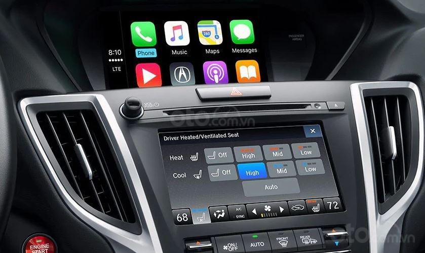 Đánh giá xe Acura TLX 2020 về màn hình thông tin giải trí - Bộ đôi quen thuộc