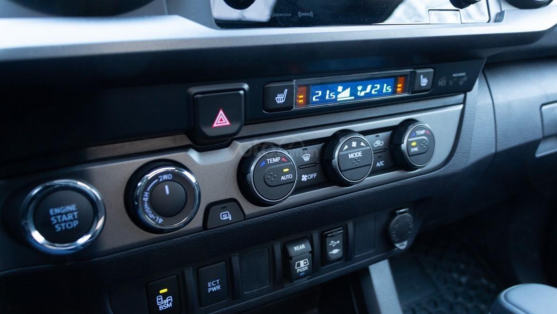 Đánh giá xe Toyota Tacoma TRD Pro 2019 về hệ thống thông tin giải trí - Chất lượng