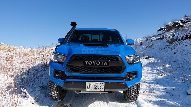 Đánh giá xe Toyota Tacoma TRD Pro 2019 về đầu xe - Cứng cáp