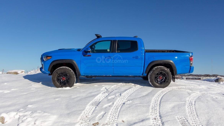 Đánh giá xe Toyota Tacoma TRD Pro 2019 về thân xe