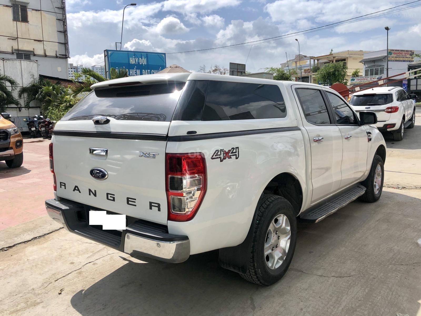Bán Ford Ranger 2.2L XLT 4x4 MT đời 2016, màu trắng, xe bán tại hãng có bảo hành (6)