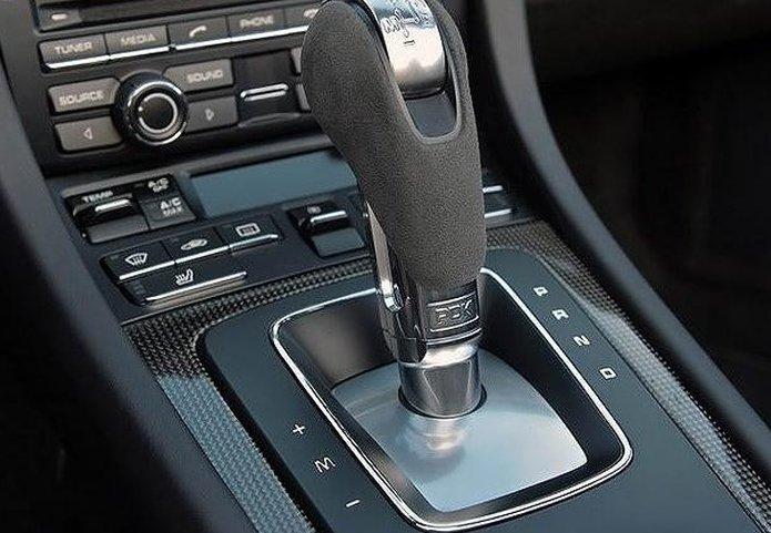 Ký hiệu trên cần số xe ô tô tự động.
