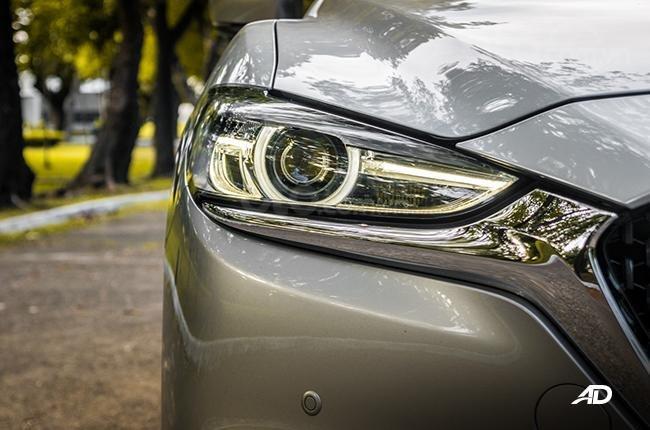 Đánh giá xe Mazda 6 2019 bản máy dầu Skyactiv-D về đầu xe - Nổi bật