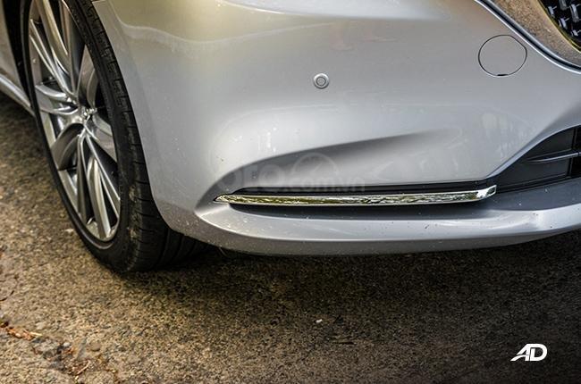 Đánh giá xe Mazda 6 2019 bản máy dầu Skyactiv-D về đầu xe - Sắc bén