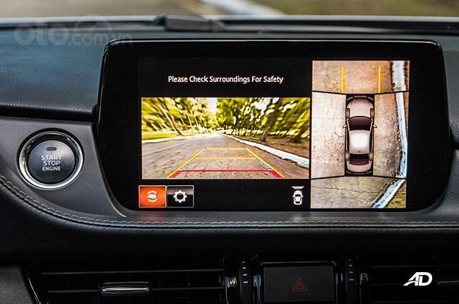Đánh giá xe Mazda 6 2019 bản máy dầu Skyactiv-D về tính năng an toàn