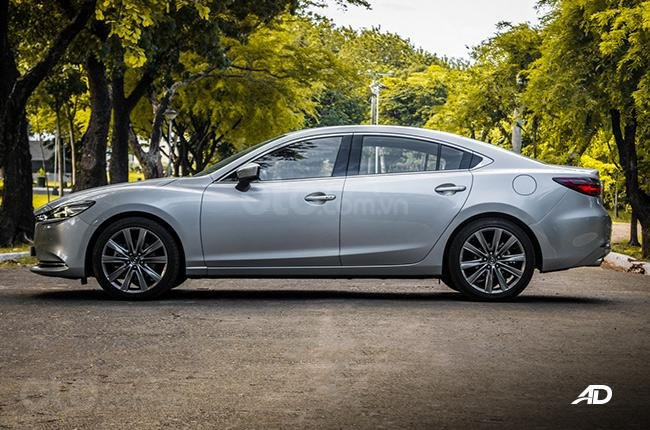 Đánh giá xe Mazda 6 2019 bản máy dầu Skyactiv-D về thân xe