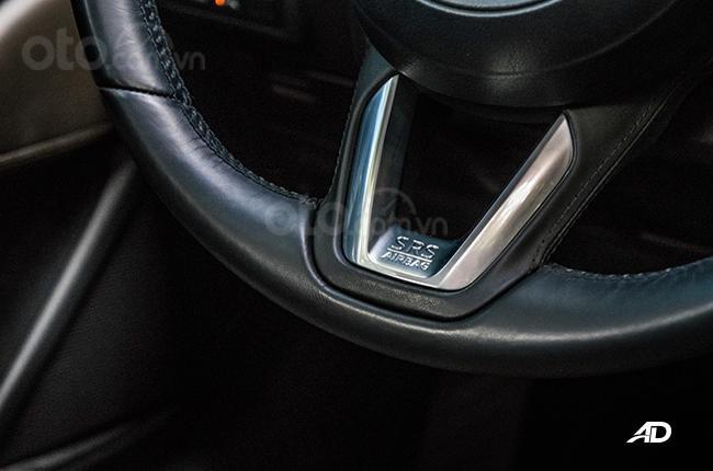 Đánh giá xe Mazda 6 2019 bản máy dầu Skyactiv-D về tính năng an toàn - Túi khí đầy đủ