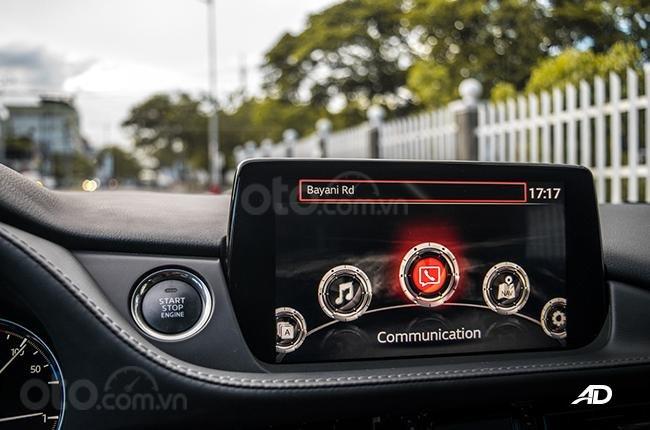 Đánh giá xe Mazda 6 2019 bản máy dầu Skyactiv-D về hệ thống thông tin giải trí - Đa dụng