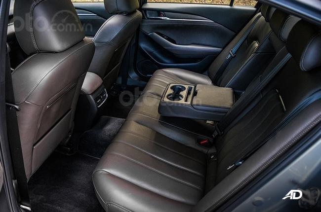 Đánh giá xe Mazda 6 2019 bản máy dầu Skyactiv-D về ghế ngồi - Người sau cũng được ưu ái