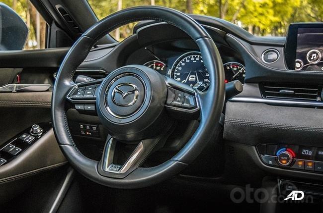 Đánh giá xe Mazda 6 2019 bản máy dầu Skyactiv-D về cảm giác lái