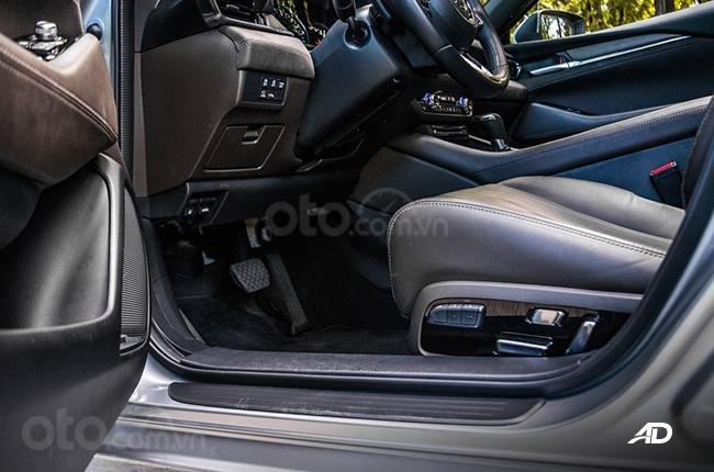 Đánh giá xe Mazda 6 2019 bản máy dầu Skyactiv-D về ghế ngồi