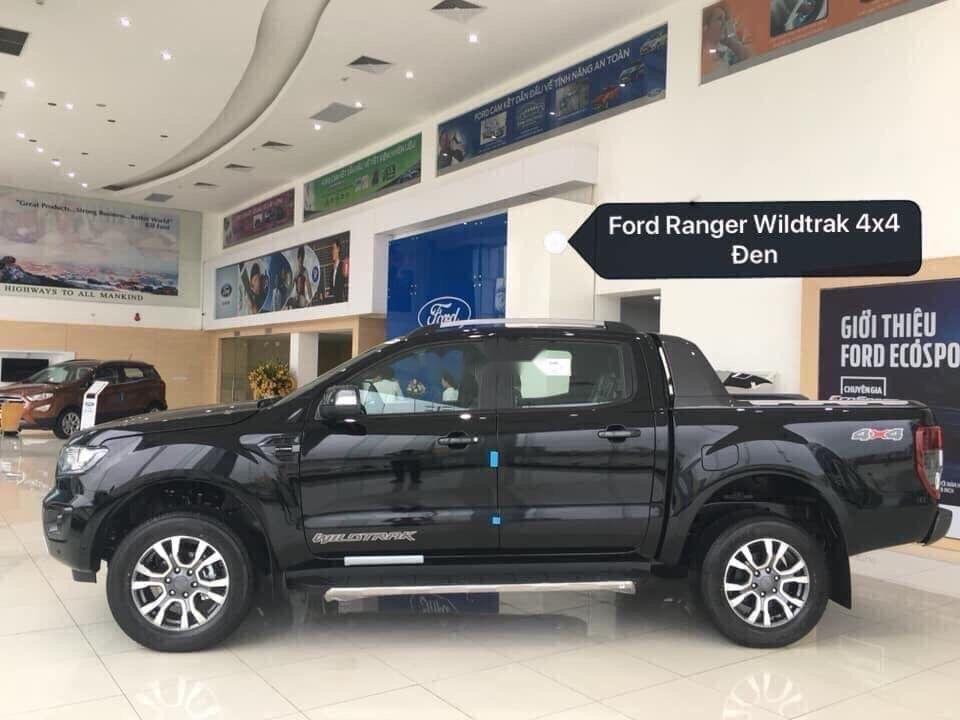 Bán xe Ford Ranger 2019, màu đen, nhập khẩu, nhiều quà tặng-0