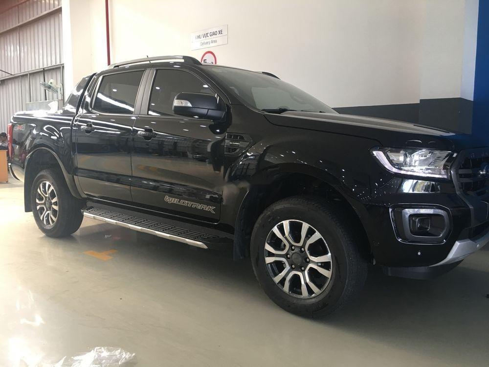 Bán xe Ford Ranger 2019, màu đen, nhập khẩu, nhiều quà tặng-1