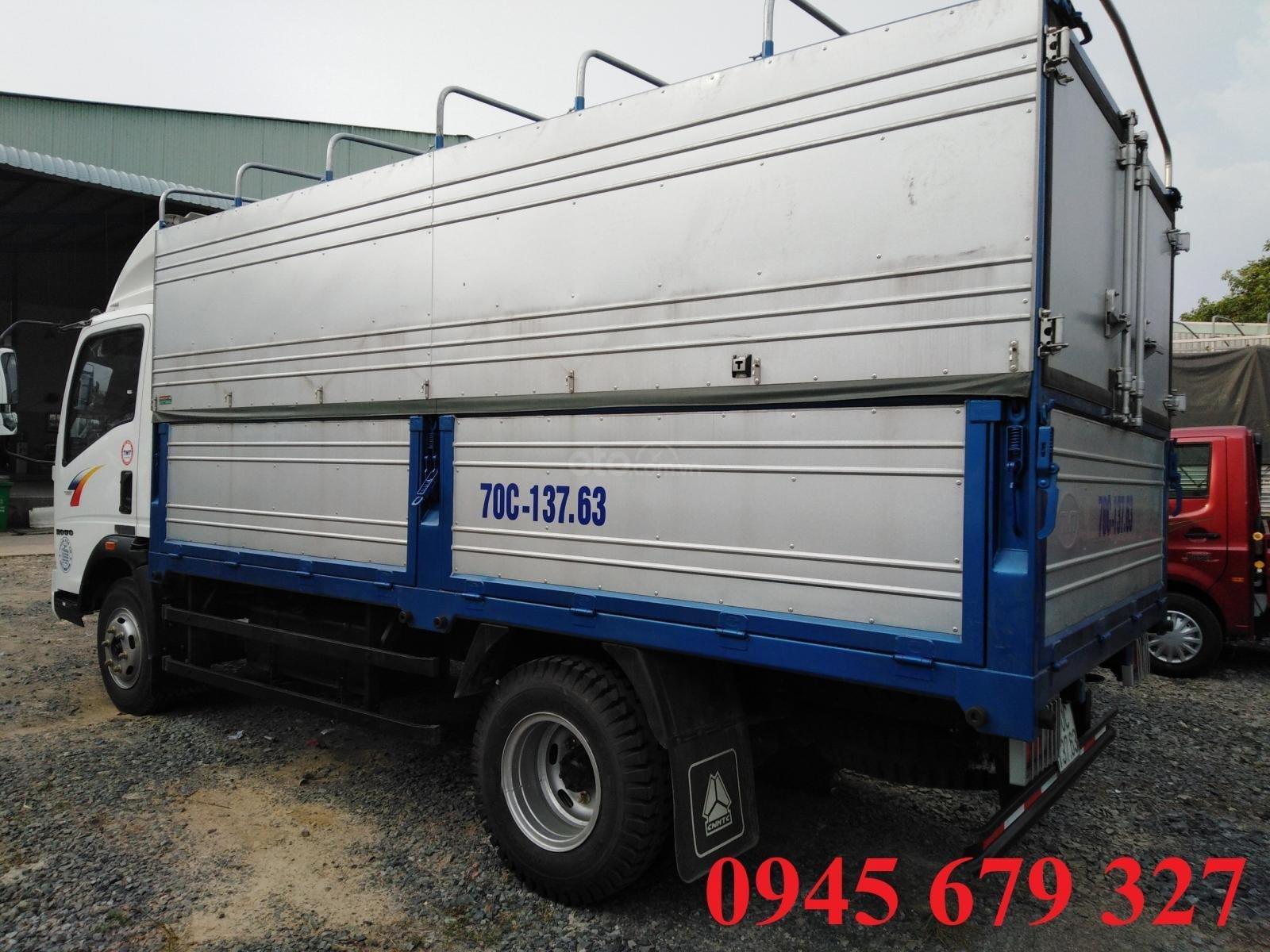 Thanh lý  xe tải Howo 6T, máy Isuzu ga cơ giá rẻ trảgóp (3)