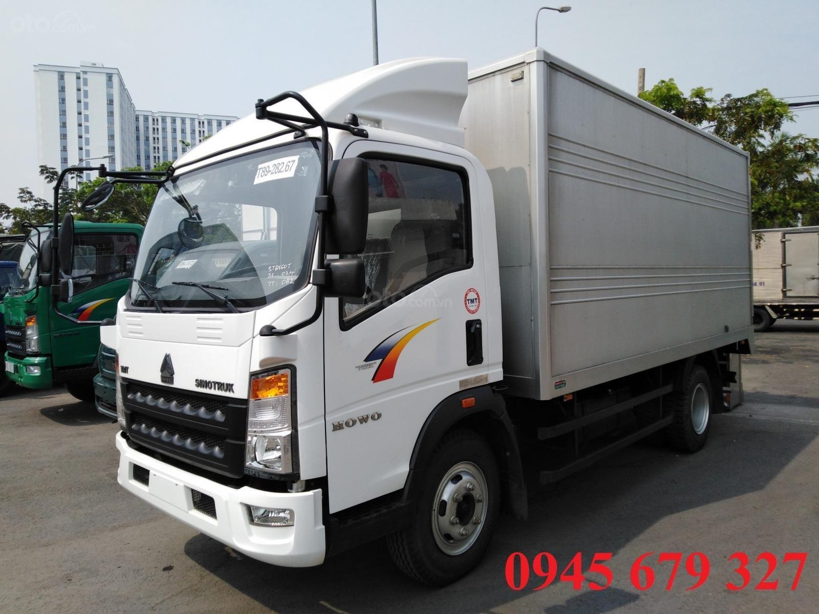 Thanh lý xe tải Howo 6T ga cơ, giá rẻ hỗ trợ trả góp (2)