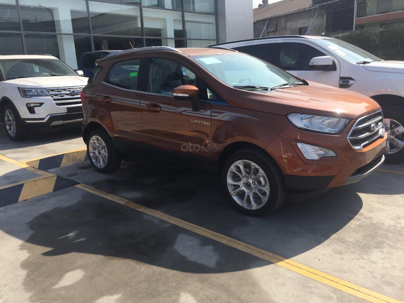 Bán Ford EcoSport Titanium 1.5L đời 2019, có đủ màu, đủ dòng giao nhanh, chỉ từ 200tr đón ngay xe về nhà-1