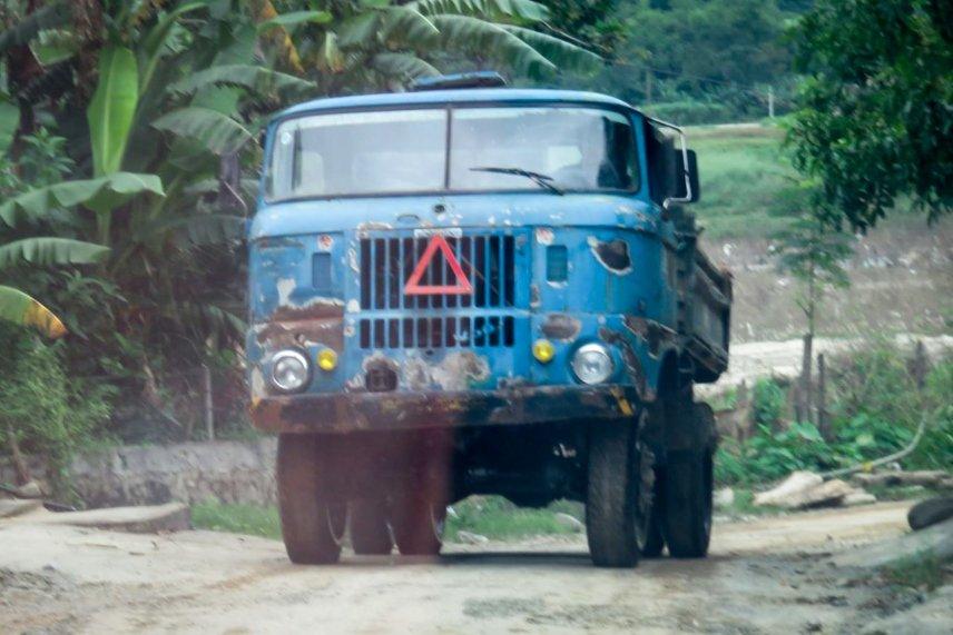 Niên hạn sử dụng xe tải theo quy định là không quá 25 năm.