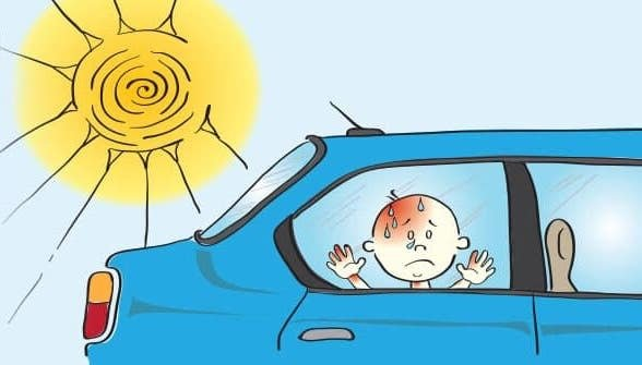 Dạy trẻ kỹ năng tự thoát hiểm khi bị bỏ quên trên ô tô a1