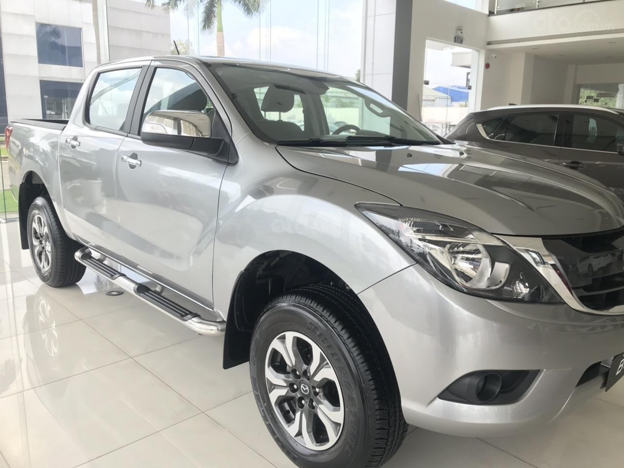Cần bán xe Mazda BT 50, màu trắng, nhập khẩu, 674 triệu-2