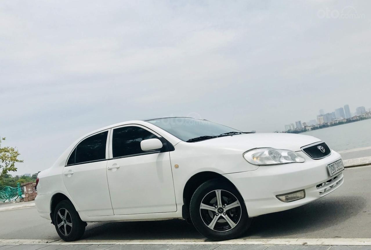 Cần bán xe Toyota Corolla altis 1.3L năm 2001, màu trắng-2