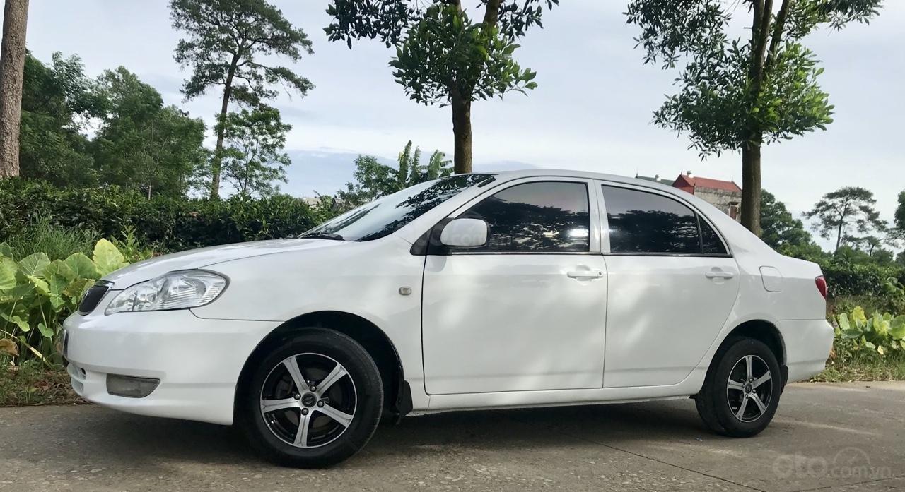 Cần bán xe Toyota Corolla altis 1.3L năm 2001, màu trắng-0