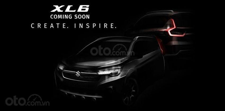 Suzuki XL6 tung ảnh nhá hàng, sẵn sàng đọ sức Mitsubishi Xpander