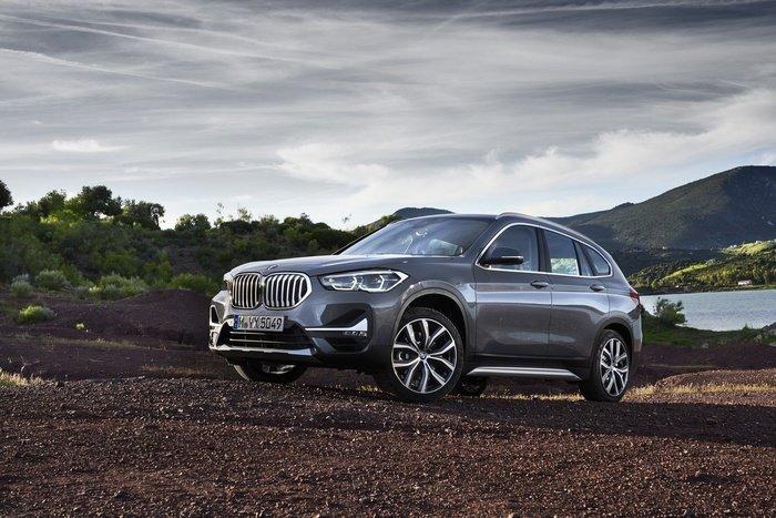 Ngoại thất BMW X1 2020 có nhiều thay đổi