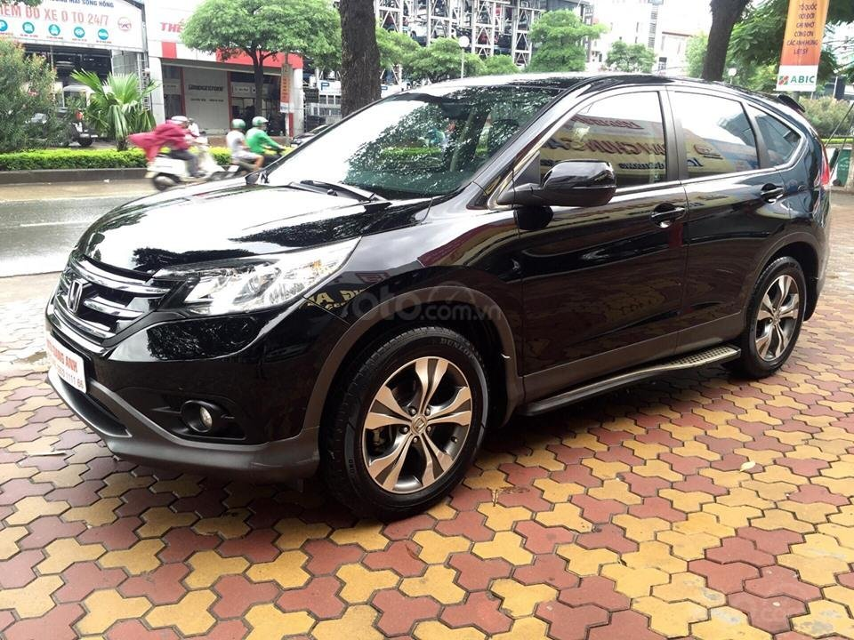 Cần bán xe Honda CR V 2.4 đời 2014, màu đen chính chủ-2