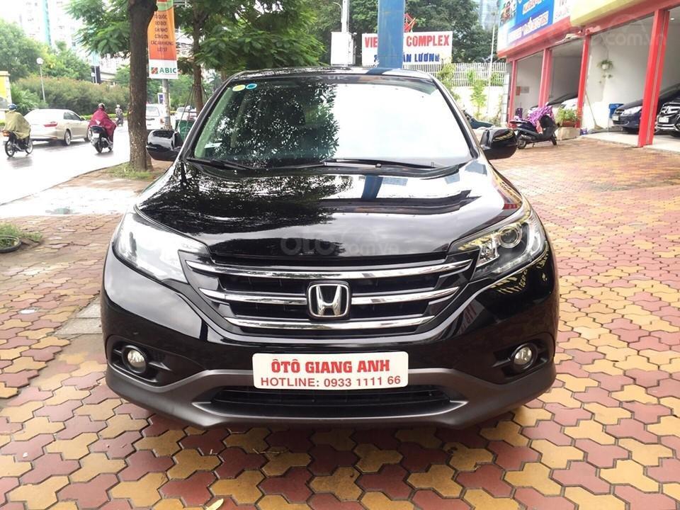 Cần bán xe Honda CR V 2.4 đời 2014, màu đen chính chủ-1